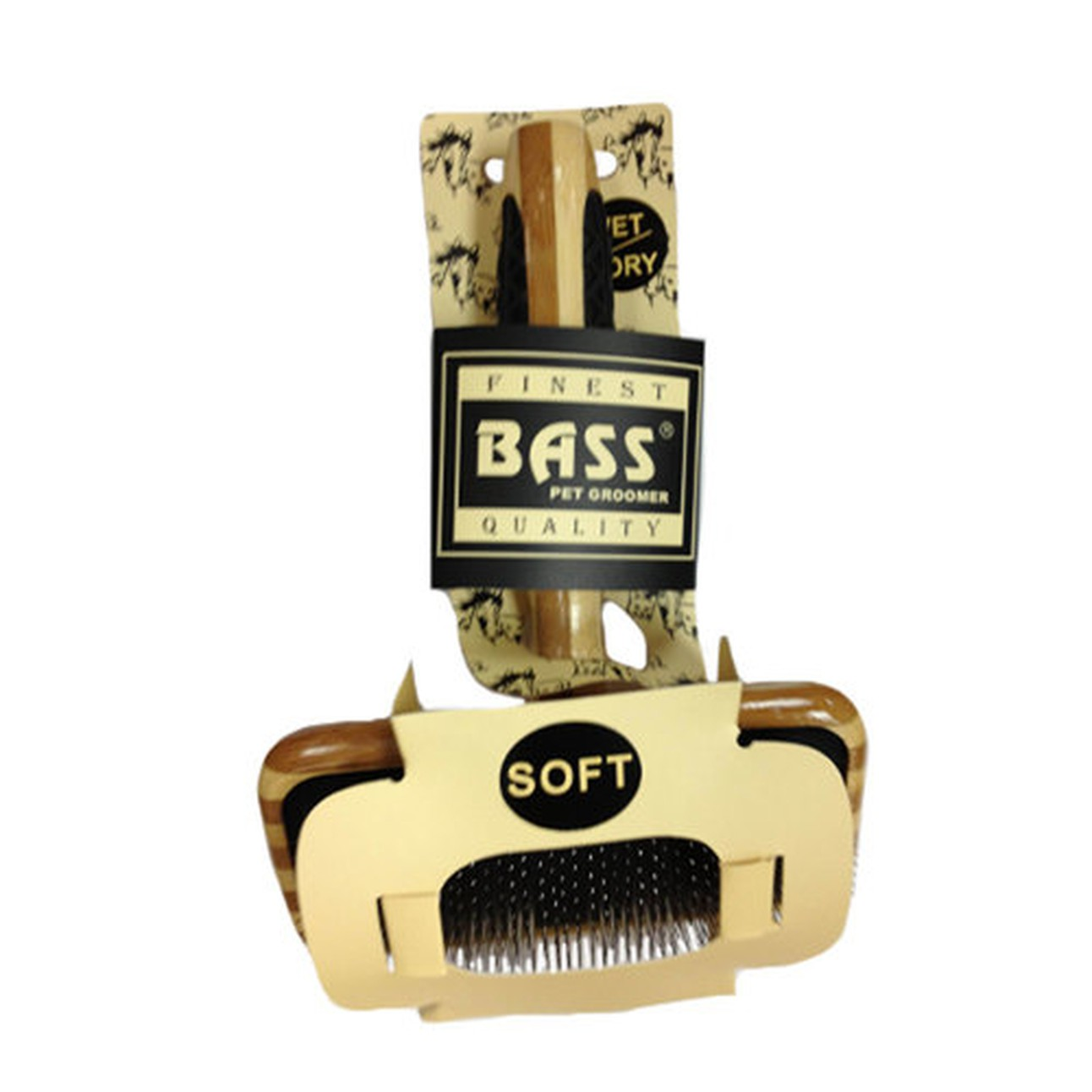 Bass Small Soft Slicker Brush