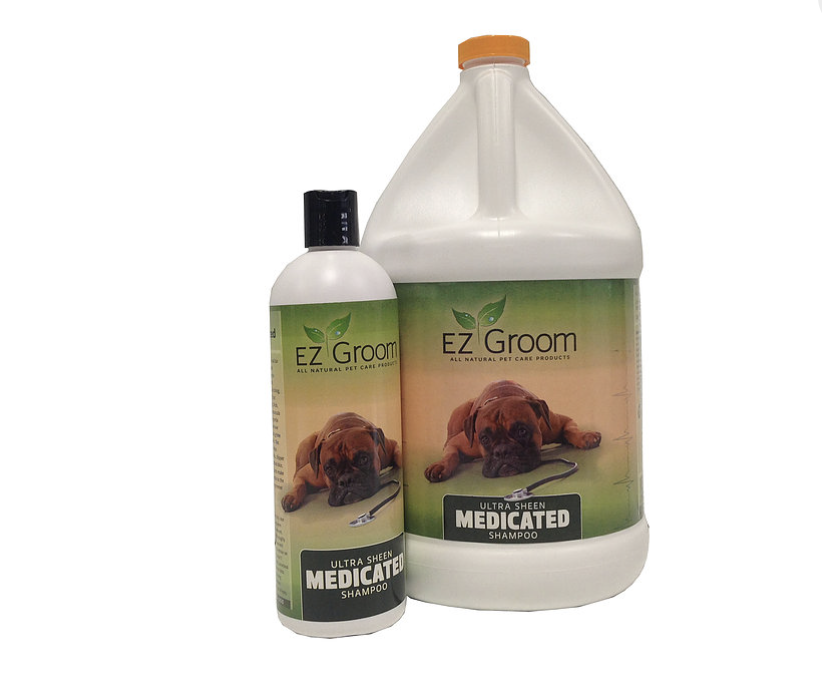 EZ Groom Ultra Sheen Medicated Shampoo
