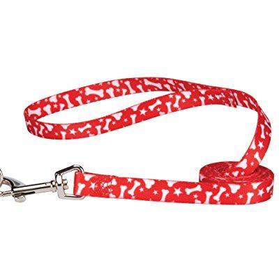 Casual Canine Red Bone Leash