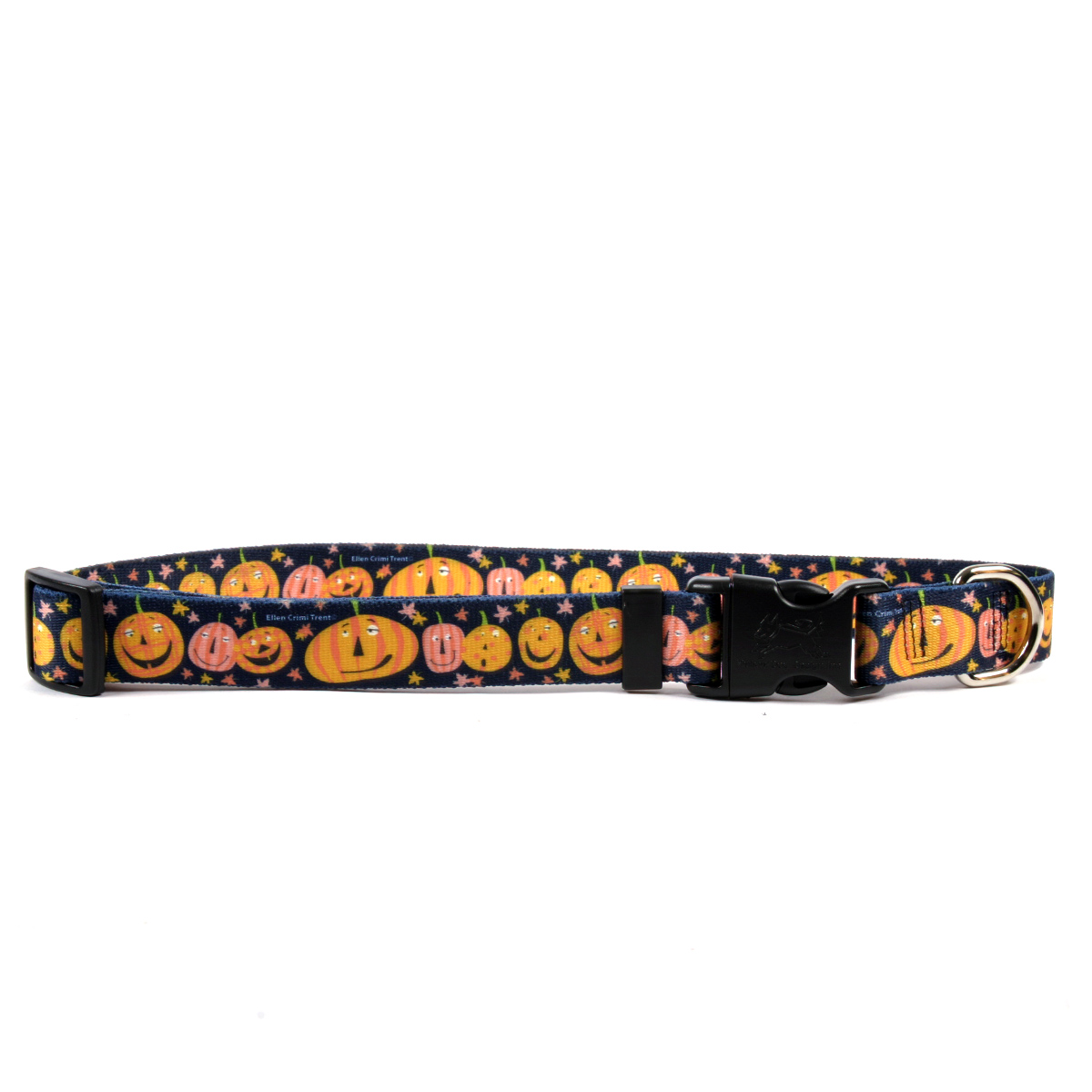 Yellow Dog Design Pumpkin Party Collar, Harness & Leash