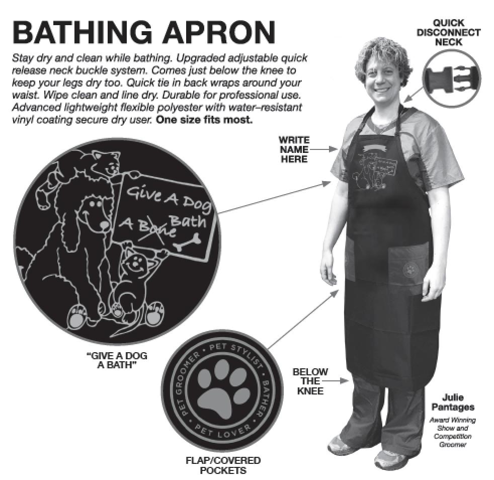 Grooming Apron