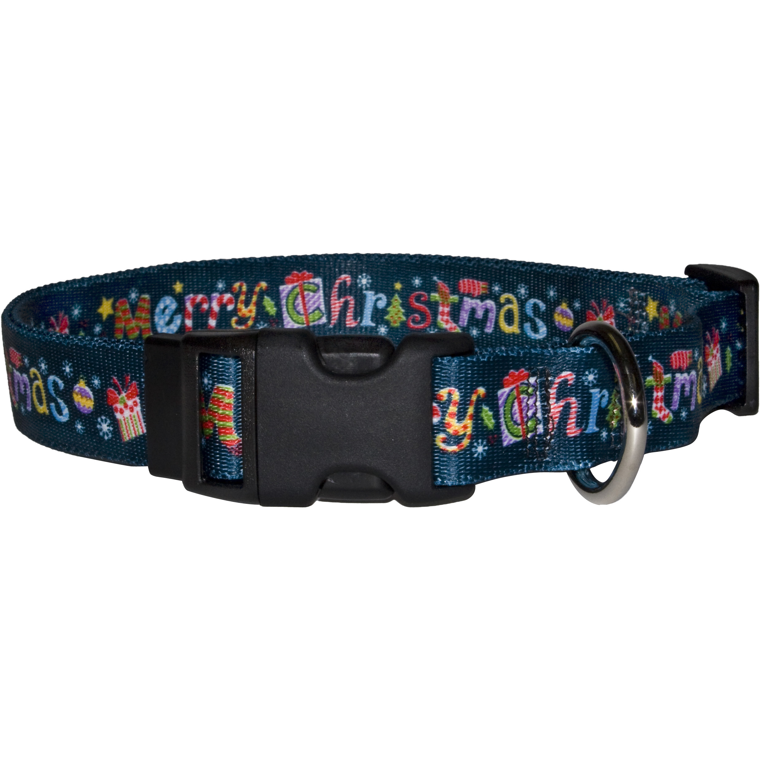 Yellow Dog Design Merry Christmas Collar, Harness & Leash