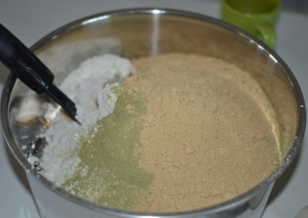 ginger and mineral powder